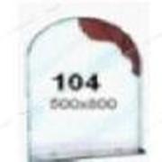 Зеркало (500*800мм, 1 полка) (104) №134620 фото