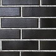 Облицовочный пустотелый кирпич Lode KRYPTON антрацит гладкий 250x120x65 фото