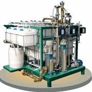 Установка УВБ-14 для получения как анионовых, так и катионовых битумных эмульсий фото