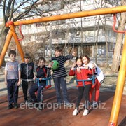 Качели Модель Л08-К Качели, детские уличные комплексы фото