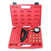 Манометр для измерения давления масла, 0-21 бар, комплект адаптеров МАСТАК 120-20012C фото