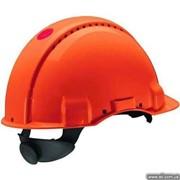 G3000CUV-OR Каска, помаранч. вент., синтетич. фото