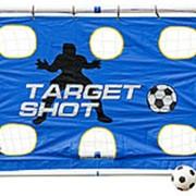 Разборные футбольные ворота с тренировочными сетками Madcador 3 в 1 (сетка-мишень, сетка-отражатель) (183x96х130см) фото