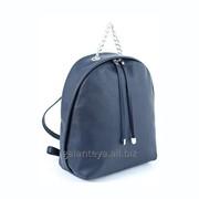 Рюкзак молодежный из искусственных материалов, модель 24716 фото