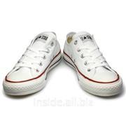 Кеды Converse All Star Low белые фото