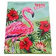 """Дневник школьный Prof Press""""Фламинго в торопиках"""", 7БЦ, глянц,лам, универсальный 40л., Д40-6874 фото"""