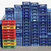 Ящики пластмассовые (пластиковые) фото
