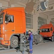 Обслуживание техническое грузовых автомобилей фото