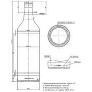 Водочная бутылка 1л фото