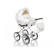 Коляска для новорожденных Lonex Classic Retro Len RL-21 фото