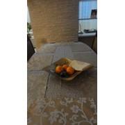 Пошив скатертей и салфеток, столовый текстиль на заказ фото