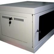 US-WMNC66-9U-FLAT Шкаф 9U 600x600, коммутационный, настенный, разборной фото