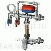 Сборный регулирующий узел для напольного отопления, с сервоприводом, артикул FK 3490 110 фото