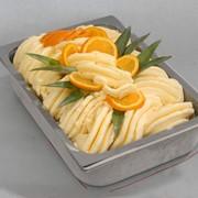 Мороженое апельсиновый сорбет фото