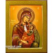 Эксклюзивная Писаная Икона Пресвятой Богородицы Утоли Моя Печали Код товара: ОГр-20 фото