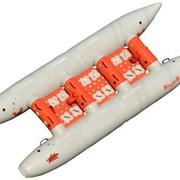 Катамаран надувной туристический Крепыш-4 (+2) фото