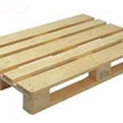 Поддон деревянный новый, б.у фото