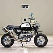 Мопед мокик Honda Monkey Gorilla рама Z50J год выпуска 1998 тюнинг пробег 3 т.км черный серебристый фото