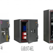 Сейф огнестойкий и взломостойкий GARANT-95TEL фото