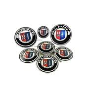 Набор эмблем Alpina для BMW, в комплекте 7 шт фото