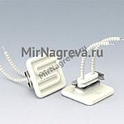 Керамический инфракрасный нагреватель QFE 125 Вт/230 В, 60*60*24 мм, провод 100 мм фото