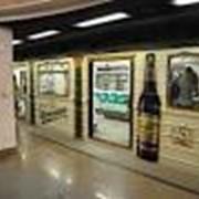 Наружная реклама в вагонах метро фото