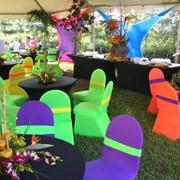 Чехлы для стульев, чехлы на стулья. Аренда, продажа и изговление по заказ. фото