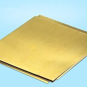 Лист латунный 2 мм Л63 фото