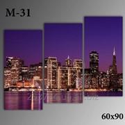 Картина модульная М-31, размер 60х90 фото