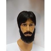 Усы и борода из натуральных волос фото
