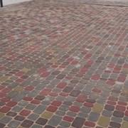 """Тротуарная плитка """"Носталит""""""""Старый город"""" цветная фото"""