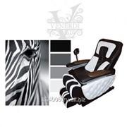 Массажное кресло VENERDI FUTURO Королевская зебра фото