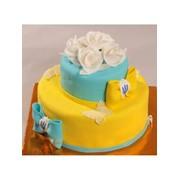Торт святковий № 378 фото