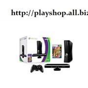 Приставка X-Box Slim 4GB+Kinect+Kinect Alventure (GLITCH и DVD-ROM)+подставка для Kinect большая (x-box) фото