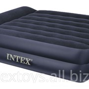 66702 Intex Двуспальная надувная кровать 152х203х47см фото