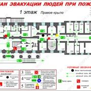 План эвакуации фото