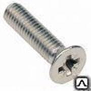 Винт 12х20 мм оцинкованный ГОСТ 17475, DIN 965. фото