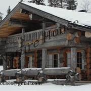 Деревянные дома, бани по канадской, норвежской технологии из сосны, кедра, сухостоя фото