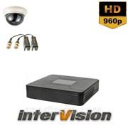 Комплект видеонаблюдения KIT-Dome181: 1 видеокамера 1000 TVL Sony Exmor + видеорегистратор 300212 фото