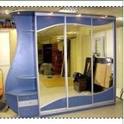 Шкаф-купе с боковыми полками фото