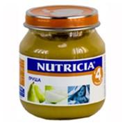 Пюре НУТРИЦИЯ (NUTRICIA) груша с 4 мес.125 г фото