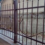 Ограды металлические фото