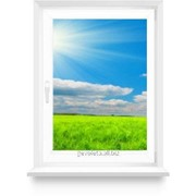 Окно из ПВХ 700х1500 поворотно-откидное фото