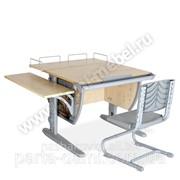 Набор школьной мебели Дэми СУТ.14-02 клен/серый Фрегат со стулом фото