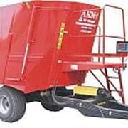 Агрегат кормовой многофункциональный АКМ-9, АКМ-14 (измельчитель, миксер, кормосмеситель, кормораздатчик, смеситель - кормораздатчик) фото