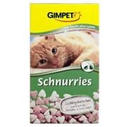 Витаминная добавка для кошек 650 таб Gimpet Сердечки ягненок фото