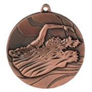 Медаль MMC2750 плавание фото