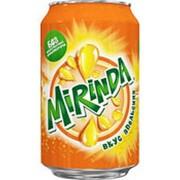 Газированный напиток MIRINDA, 0,33л фото