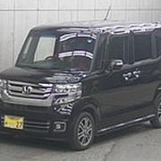 Микровэн турбо HONDA N BOX PLUS кузов JF1 класса минивэн модификация G Turbo L гв 2015 пробег 38 т.км черный фото