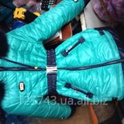 Зимние комбинезоны и пальто фото